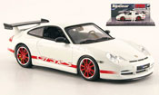 Porsche 996 GT3 RS white avec Figur The Stig