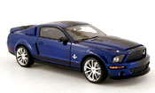 Shelby GT 500 super snake blue avec bands blacks 2008