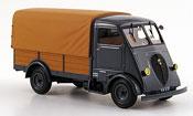 Peugeot Q3A miniature bache grise marron 1952