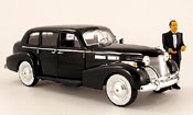 Cadillac Fleetwood Jada Toys series 75 noire der pate 1940