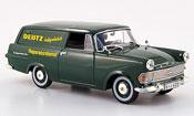 Opel Rekord p 2 caravan green deutz reparaturservice 1960