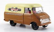 Opel Blitz kastenwagen a beige brown handelsor 1960