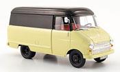 Opel Blitz kastenwagen a beige black 1960
