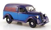 Lancia Ardea miniature 800 furgoncino bleu  bleu perugina 1951