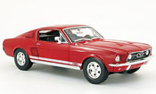 Ford Mustang 1967 gta fastback red