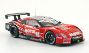 Nissan Skyline R35 JGTC GT R No.1 Motul Autech Super GT 500 2009 Ebbro 1/43
