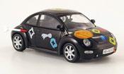 Volkswagen New Beetle   noire die ludolfs Schuco 1/43
