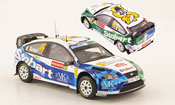 Miniature Rallye Ford Focus RS WRC 07 No.46 Rally Wales 2008
