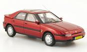 Mazda 323 miniature F  rouge 1992