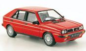 Miniature Lancia Delta HF Integrale  4wd rouge 1987
