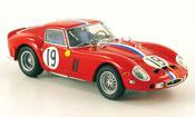 Ferrari 250 GTO 1962  no.19 24h le mans Kyosho 1/43