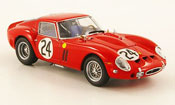 Ferrari 250 GTO 1963  no.24 24h le mans Kyosho