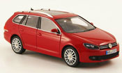 Volkswagen Golf VI variant red 2009