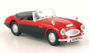 Austin Healey 100/6 red black