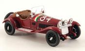 Alfa Romeo 6C miniature 1750 gs no.84 mille miglia 1930