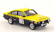 Opel Kadett GT miniature e no.13 rohrl broamintex rallye 1977