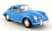 Porsche 356 1961 B coupe blu