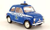 Fiat 500 polizia polizei