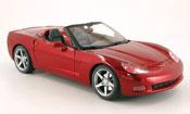 Chevrolet Corvette C6 cabrio red
