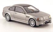 Bmw M3 miniature E46 CSL grise 2003