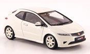 Honda Civic Type R miniature blanche