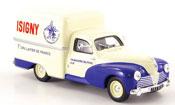 Peugeot 203 miniature Fourgonette u8 isigny 1953