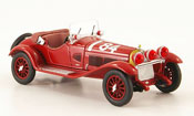 Alfa Romeo 6C miniature 1750 gs no.84 t.nuvolari mille miglia 1929