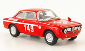 Alfa Romeo Giulia miniature 1300 GTA junior no.149 e.pinto mugello 1968