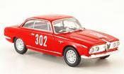 Alfa Romeo 2600 miniature sprint no.302 m.baldi bologna 1968