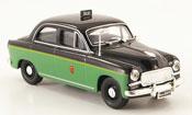 Miniature Fiat 1400   Taxi Rom 1955