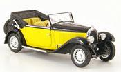 Bugatti Type 59 convertible yellow black 1934