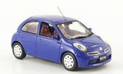 Miniature Nissan Micra   bleu Funfturer Rechtslenker 2007