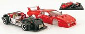 Miniature Ferrari 512 BB LM  rouge kit prasentation 1980