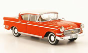 Opel Kapitan p 2.5 red white 1958