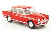 Alfa Romeo 2000 1957 berline rosso 1957