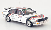 Audi Quattro No.16 Bosch Oosterbaan Rally Hunsruck 1985