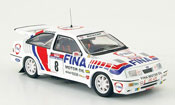 Miniature Rallye Ford Sierra Cosworth RS RS Cosworth No.8 Fina Rally Korsika 1990