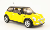 Mini Cooper miniature D jaune noire dach