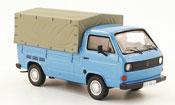 Miniature Volkswagen Combi   t3a pritsche bleu