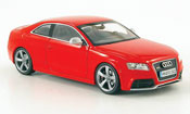 Audi RS5  coupe rouge 2010 Schuco