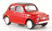Fiat 500   red 1957 Mondo Motors