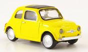 Fiat 500   jaune 1957 Mondo Motors