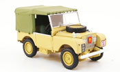 Miniature Land Rover 80   Suffolk Regiment  beige