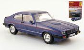Miniature Ford Capri   MKIII bleu