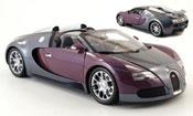 Miniature Bugatti Veyron Grand Sport  grise/lila 2009