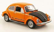 Volkswagen Coccinelle 1303 world cup arancione nero 1974