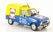 Renault 4L   f6 darty 1986 MCW 1/43