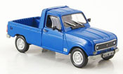 Renault 4L   pick up bleu 1979 MCW 1/43