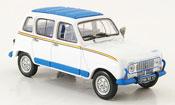 Renault 4L   jogging blanche 1981 MCW 1/43