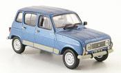 Renault 4L   gtl clan bleu 1987 MCW 1/43